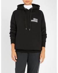 GOOD AMERICAN - Goodies Icon Cotton-jersey Hoody - Lyst