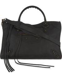 Balenciaga Classic City Arena Graffiti Small Leather Shoulder Bag in ... 1fa1134849c58