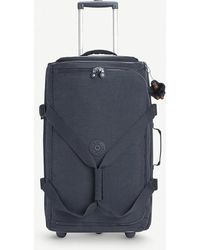 Kipling - Teagan M Wheeled Nylon Duffle Bag 66cm - Lyst