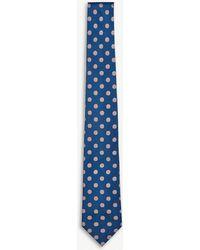 Thomas Pink - Olav Spot Woven Silk Tie - Lyst