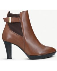 Carvela Kurt Geiger - Rae Leather Ankle Boot - Lyst
