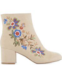 ALDO - Ladies Bone Kettleson Heeled Ankle Boots - Lyst