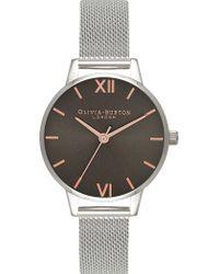Olivia Burton - 674287 Midi Stainless Steel Watch - Lyst