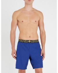 Versace - Iconic Swim Shorts - Lyst