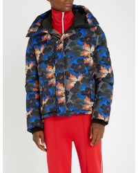 KENZO - Floral-print Padded Jacket - Lyst