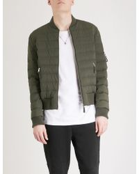 The Kooples - Quilted Shell Down Jacket - Lyst