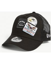 8e130228196 Givenchy Star Patches Logo Cap in Black for Men - Lyst
