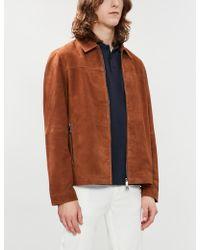 30645b962 Sandro - Desir Slogan Cotton-piqué Polo Shirt - Lyst