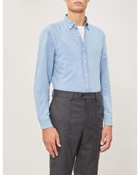 Brunello Cucinelli - Leisure-fit Linen-chambray Shirt - Lyst