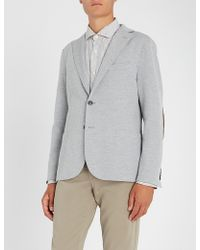 Eleventy - Striped Linen And Cotton Shirt - Lyst