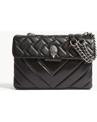Kurt Geiger - Kensington Quilted Leather Shoulder Bag - Lyst