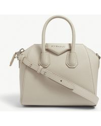 Lyst - Givenchy Antigona Leather Tote in Natural 2573703fbca97
