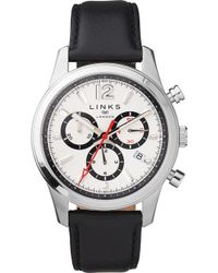 Links of London - Greenwich Noon Chronograph Stainless Steel Watch - Lyst