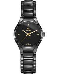 Rado - R27242712 True Ceramic And Diamond Watch - Lyst