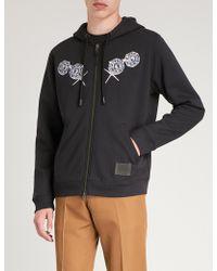 COACH - Dark Disney Bashful Cotton-jersey Hoody - Lyst