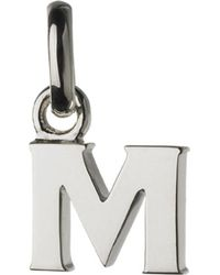 Links of London | Alphabet M Sterling Silver Charm | Lyst