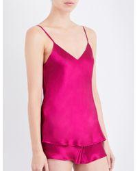 Nk Imode - Living-wear Silk-satin Pyjama Camisole - Lyst