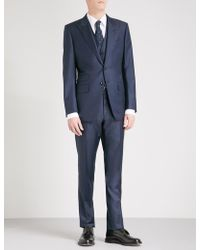 Tom Ford - Classic-fit Three-piece Wool Suit - Lyst