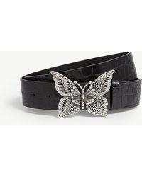 The Kooples - Butterfly Buckle Belt - Lyst