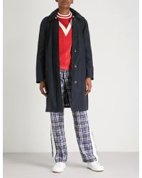 Burberry - Tringford Hooded Shell Trench Coat - Lyst