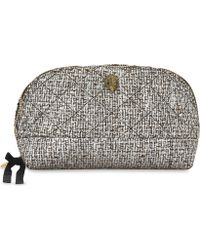 Kurt Geiger - Quilted Cosmetic Case - Lyst