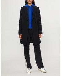 Zadig & Voltaire - Marco Brushed Wool-blend Coat - Lyst