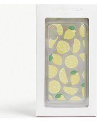 Skinnydip London - Glitter Lemon Iphone X Case - Lyst