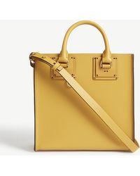 Sophie Hulme - Albion Box Tote Leather Bag - Lyst