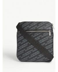 Emporio Armani - Logo Messenger Bag - Lyst