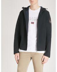 Napapijri - Hooded Shell Jacket - Lyst