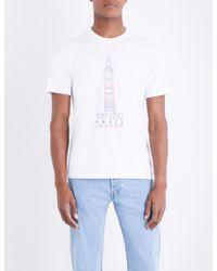 aaef7094 KENZO - Big Ben Cotton-jersey T-shirt - Lyst