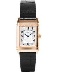 Jaeger-lecoultre - Q2662430 Reverso Duetto Rose Gold Watch - Lyst