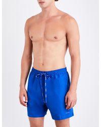 CALVIN KLEIN 205W39NYC - Logo-print Swim Shorts - Lyst