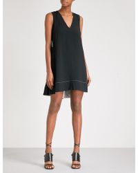 Proenza Schouler - Crossover Strap Crepe Dress - Lyst