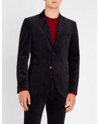 Tiger Of Sweden - Jamot Tailored-fit Cotton-velvet Jacket - Lyst
