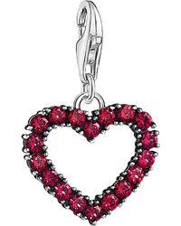 Thomas Sabo - Charm Club Sterling Silver Heart Charm - Lyst