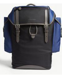 Burberry - Black Check Ranger Backpack - Lyst