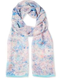 Beatrice Jenkins - Rock And Roll Silk Scarf - Lyst