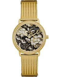 Guess - Willow Gold-tone Watch - Lyst