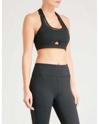 BODY BY BYRAM - Iris Stretch-jersey Sports Bra - Lyst