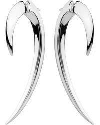 Shaun Leane - Sterling Silver Hook Earrings Size 1 - Lyst