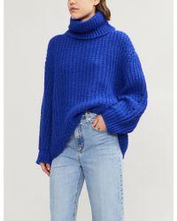 Ba&sh - Emera Turtleneck Knitted Jumper - Lyst