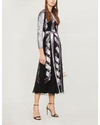 Temperley London - Insignia Cutout Sequin And Silk Gown - Lyst