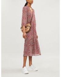 Ba&sh - Bonnie Floral-print Chiffon Dress - Lyst