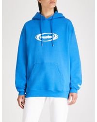 Wasted Paris - Ring Logo-print Cotton-jersey Hoody - Lyst
