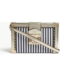 ALDO - Covina Tassel-detail Striped Box Clutch - Lyst