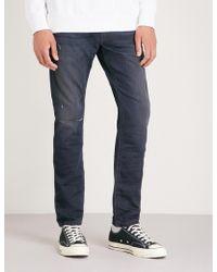 DIESEL - Krooley-ne Tapered Slim-fit Jeans - Lyst