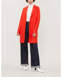 Harris Wharf London - Cocoon Wool Coat - Lyst