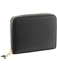 BVLGARI - Diva's Dream Leather Zip Wallet - Lyst