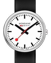 Mondaine - A7633036211sbb Swiss Railways Stainless Steel Watch - Lyst